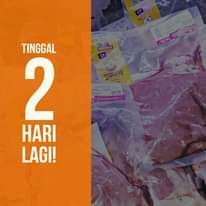 "Image may contain: text that says ""MERDEKA LON TINGGAL 2 HARI LAGI!"""